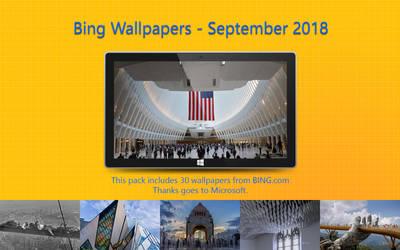 Bing Wallpapers - September 2018