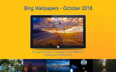 Bing Wallpapers - October 2018