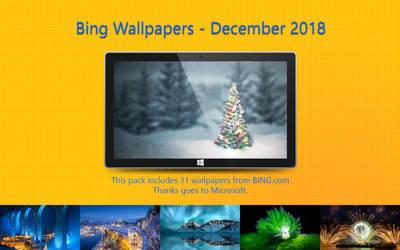 Bing Wallpapers - December 2018