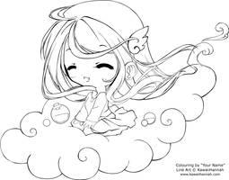 Line Art : Flying Free