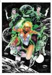 Green Lanterns Girls By Leomatos2014-d9jrobz-walk