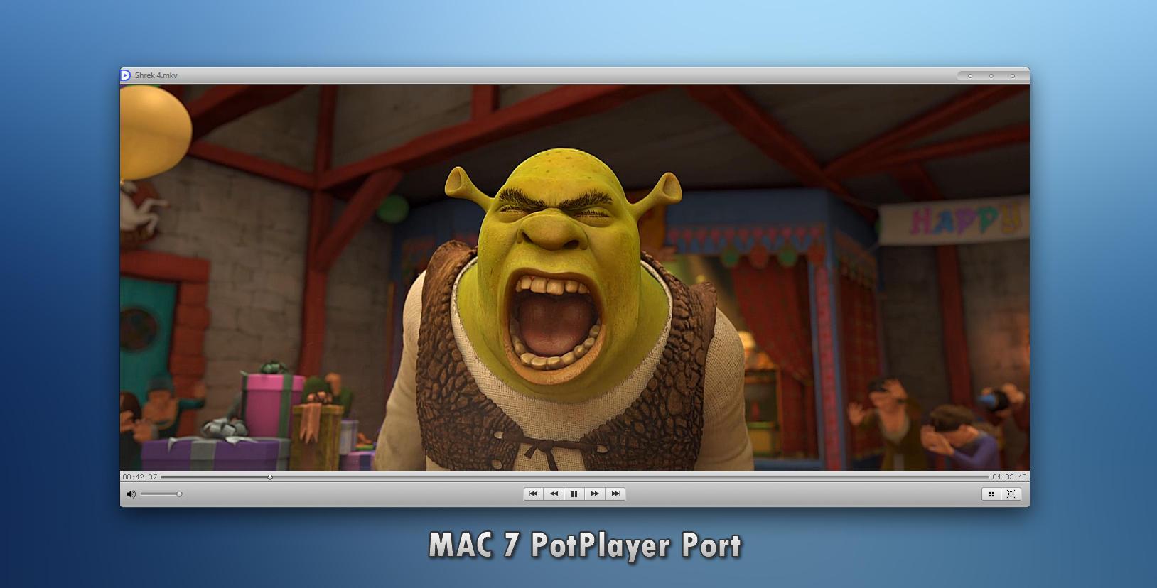 PotPlayer Mac 7 Inspirit Port by dlind87