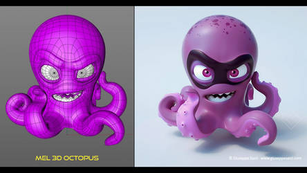 3D Octopus by Sarcix82