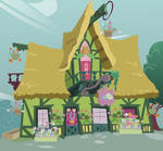 Ponyville Flower Shop - Ponyless