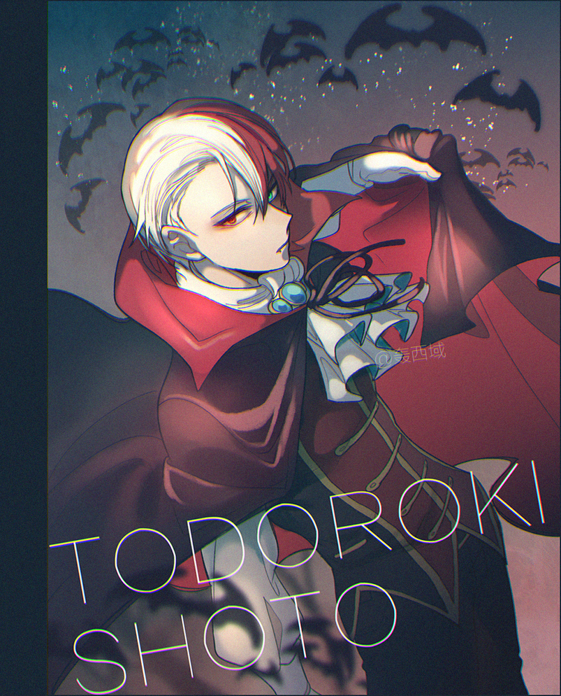 Fem!Vampire!Shoto Todoroki X M!Reader FULL (BnHA) by
