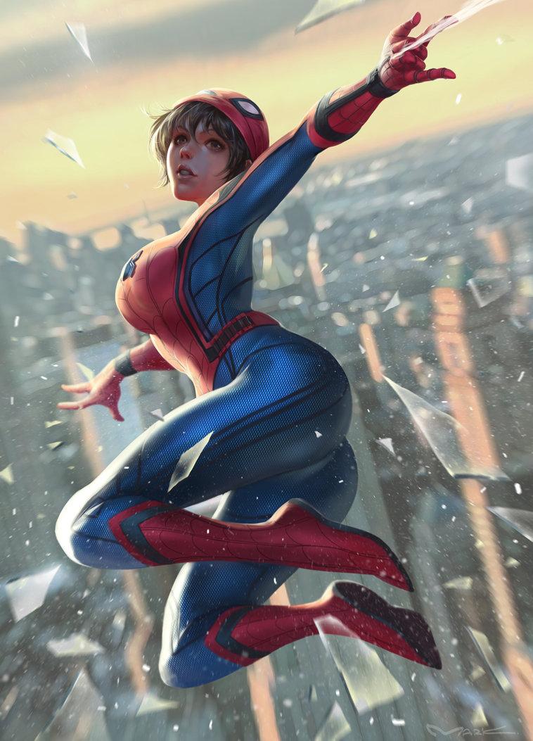 Fem!Spiderman X M!Reader FULL (Marvel) by TaranThyGod on