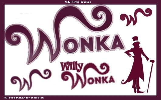 Willy Wonka Photoshop Brushes by saddiamonds