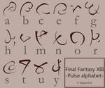 Final Fantasy 13 - Pulse font