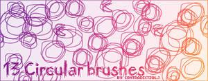 13 Circular Brushes