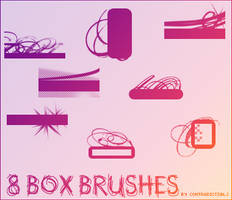 8 'box' brushes by contradictz