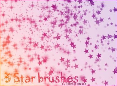 3 Star Brushes by contradictz