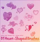 31 Heart Shapes