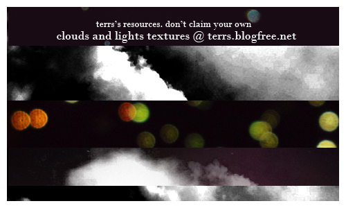 Clouds and Light Textures set by FishboneArt