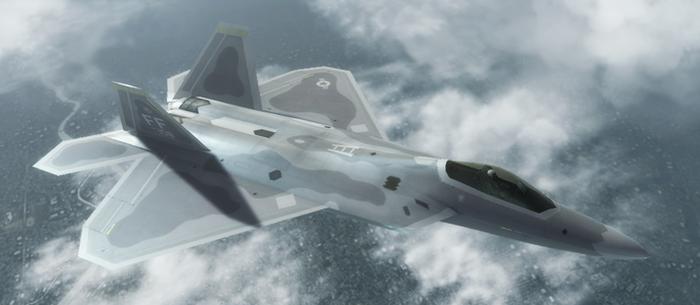 F-22A - Warwolf Squadron by Jetfreak-7