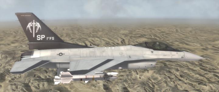 F-16C - Wind Sword Squadron by Jetfreak-7