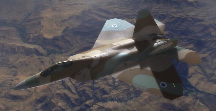 Resultado de imagen para F-22 + israel