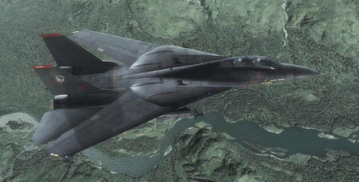 F-14A - Razgriz by Jetfreak-7