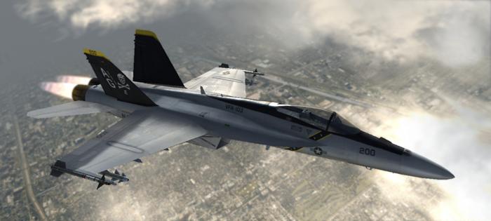F/A-18E - VFA-103 Jolly Rogers by Jetfreak-7