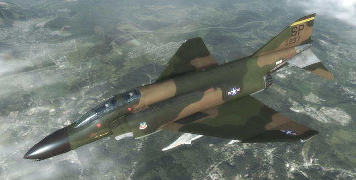F-4D - US Air Force by Jetfreak-7
