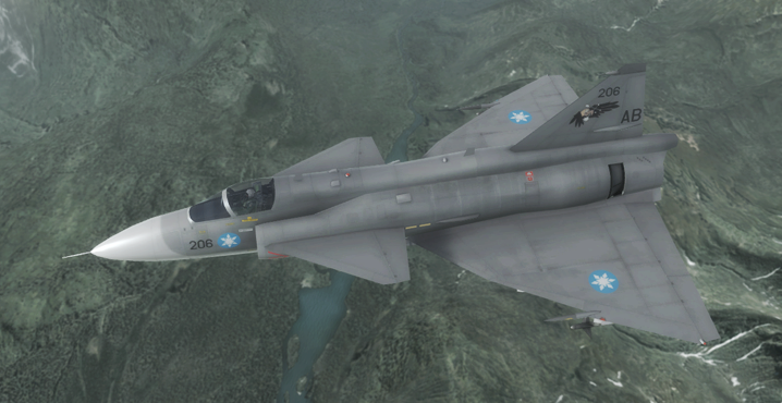 Viggen - Aurelian Air Force by Jetfreak-7