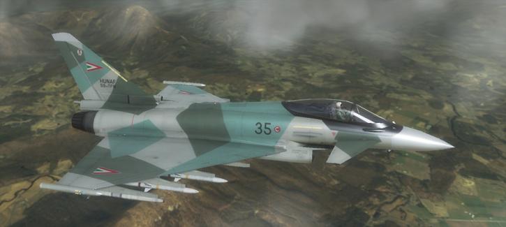 Typhoon - Hungarian Air Force by Jetfreak-7 on DeviantArt