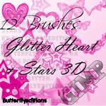 brushes gimp stars y heart