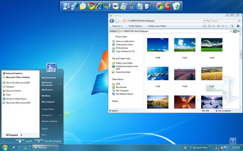 WINDOWS 7RTM 4 XP SP3 Final by AdminAdmin on DeviantArt