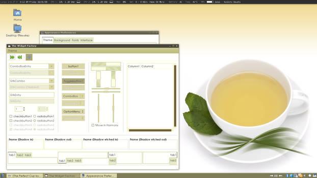 Tea - Gnome Theme