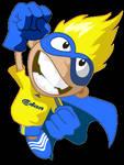 animation maskot Broendby FC