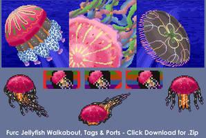 Furc Jellyfish Walkabout [Free] by Naeomi