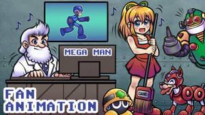 Roll's Cleaning Dance [Mega Man Fan Animation]