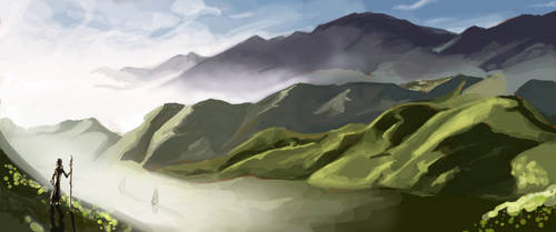 landscape - My first attempt at Muro...