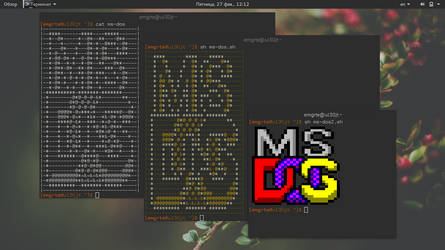The Ms-Dos shell script