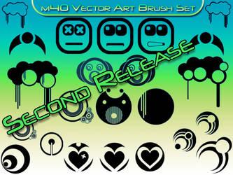m40s Vector Art Brush Set SR by theGFXedge