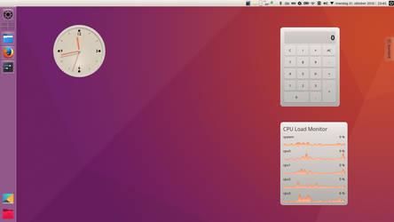 Unity Radiance 2.8 - KDE Plasma theme by DarkBeastOfPrey
