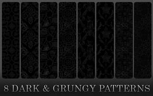 Dark And Grungy Patterns by Annelyh