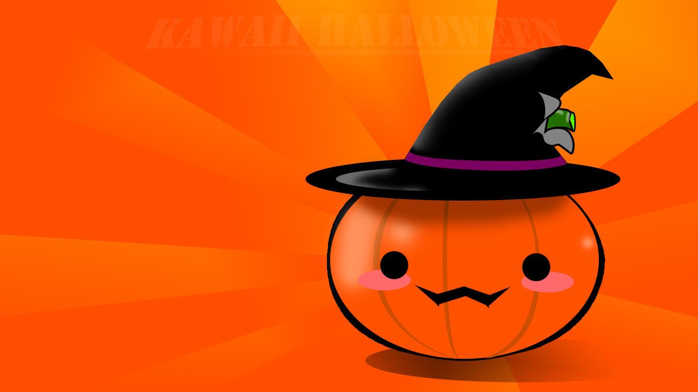 Kawaii Halloween Wallpaper by ArthurKremsier on DeviantArt