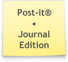 Post-it Note Journal by Ikue