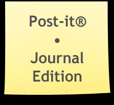 Post-it Note Journal