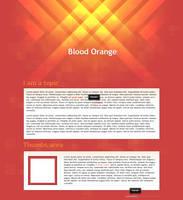 Blood Orange : Collab by Ikue