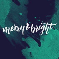 Merry and Bright Vector by Ikue