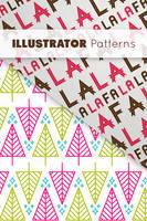 Festive Illustrator Patterns by Ikue