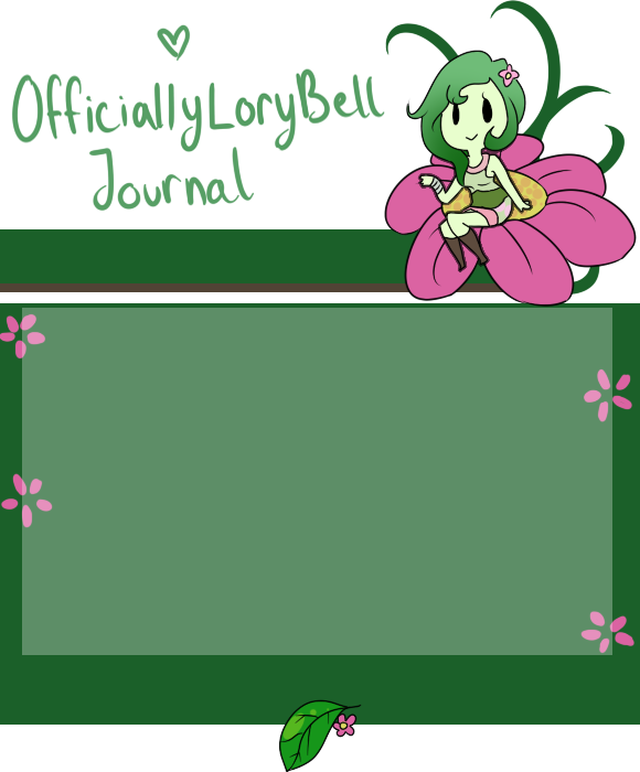 OfficiallyLoryBell Journal skin by Ask-Moon-Spirit