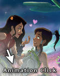 Avatar Korra Asami Animation Art Process