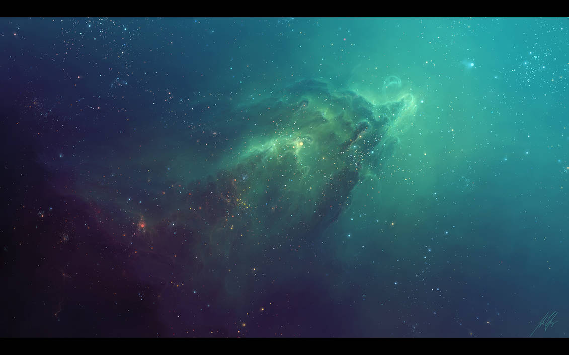 The Ghost Nebula by TylerCreatesWorlds