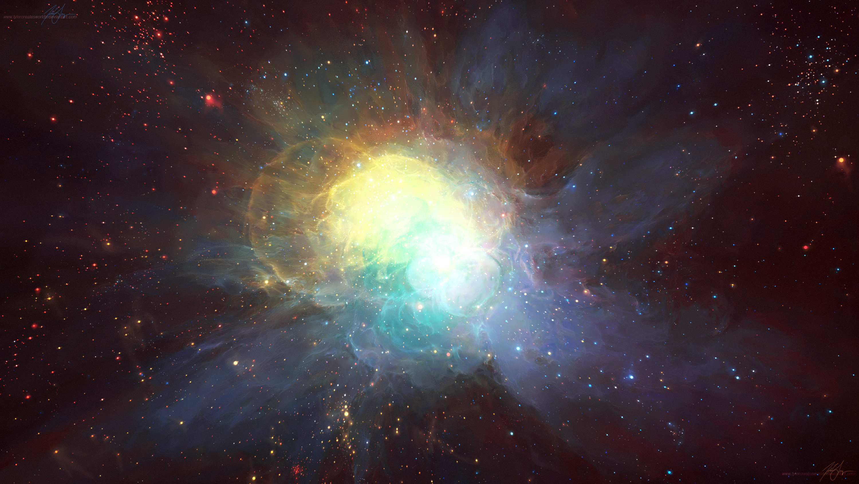 The Flower Nebula by TylerCreatesWorlds