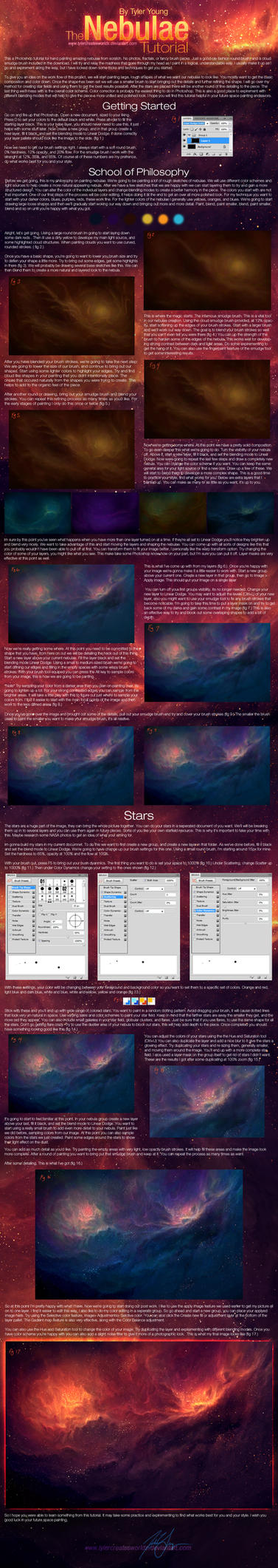 Nebulae Tutorial by TylerCreatesWorlds