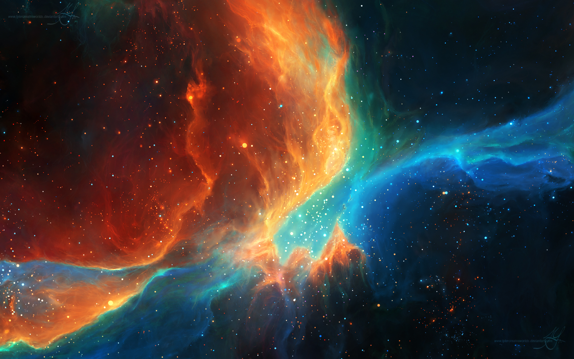 From the ashes by tylercreatesworlds on deviantart - Real space desktop backgrounds ...