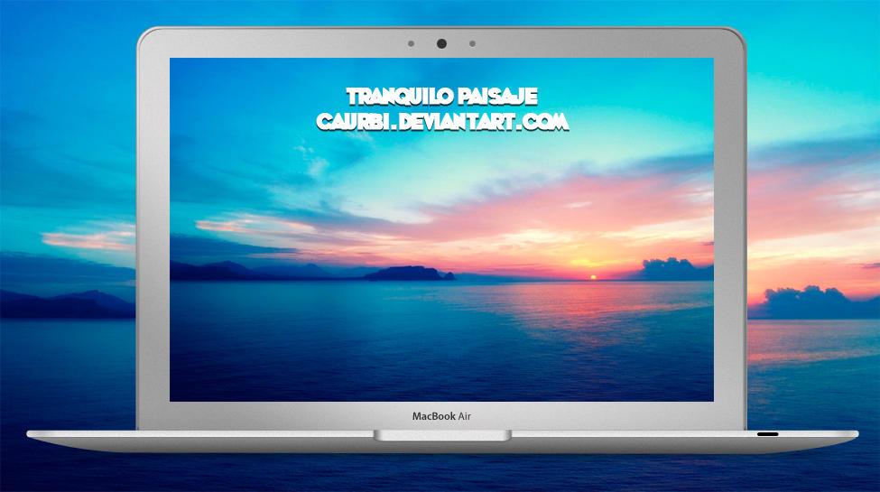 Tranquilo Paisaje by caurbi