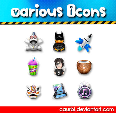 Various Icons by caurbi